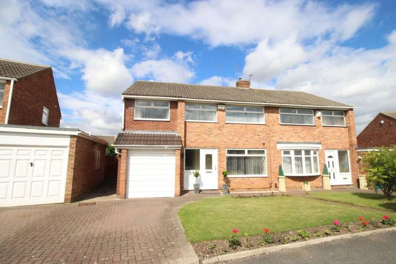 4 Bedrooms Semi Detached House for sale in Runswick Avenue, Middlesbrough, TS5