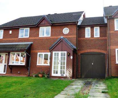 3 Bedrooms Terraced House for sale in Peveril Mews, Peveril Gardens, Newtown, Stockport