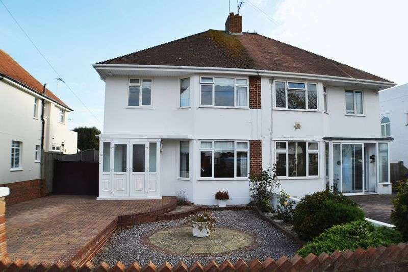 3 Bedrooms Semi Detached House for sale in GORING BY SEA