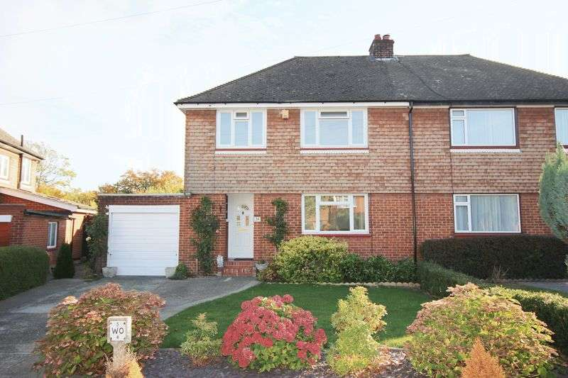 3 Bedrooms Semi Detached House for sale in Waghorn Road, Snodland