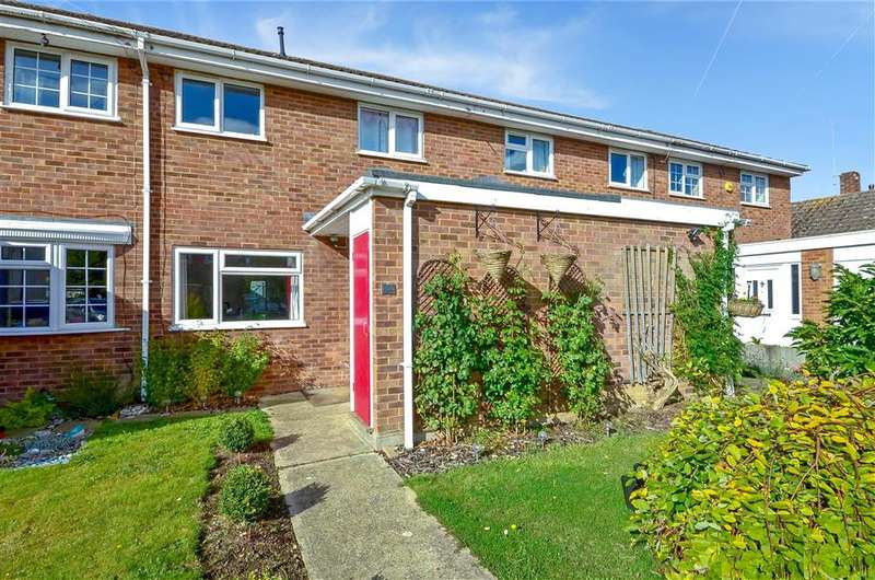 3 Bedrooms Terraced House for sale in Victoria Road, Golden Green, Tonbridge, Kent