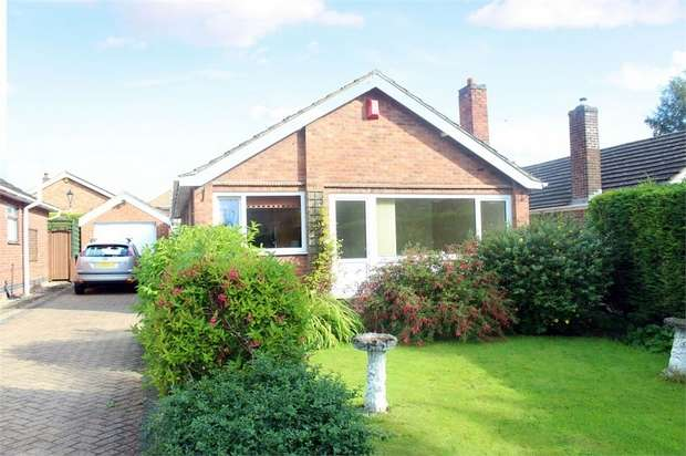 3 Bedrooms Detached Bungalow for sale in Laceyfields Road, Heanor, Derbyshire