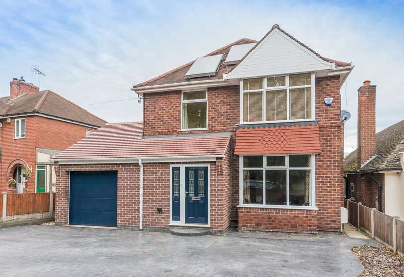 3 Bedrooms Detached House for sale in Mansfield Road, Worksop