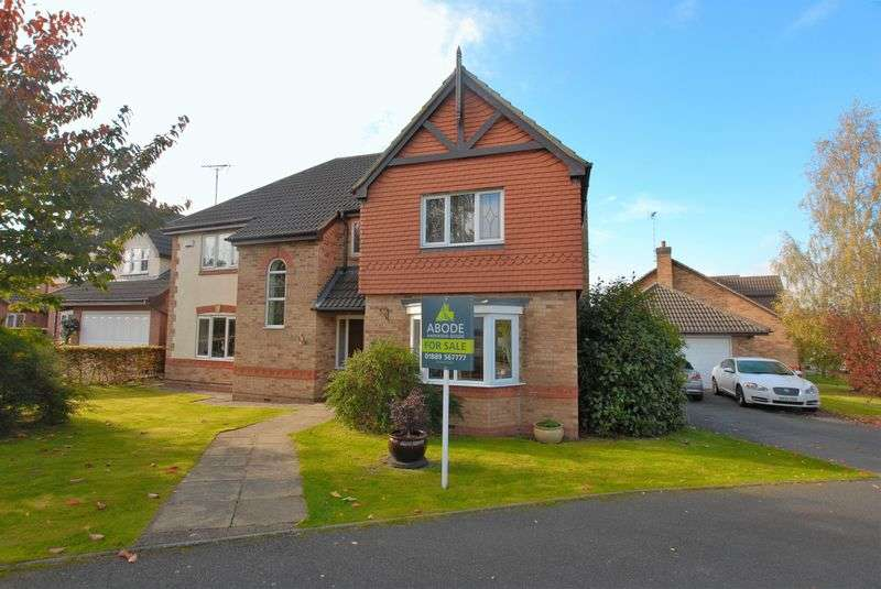 5 Bedrooms Detached House for sale in Demontfort Way, Uttoxeter