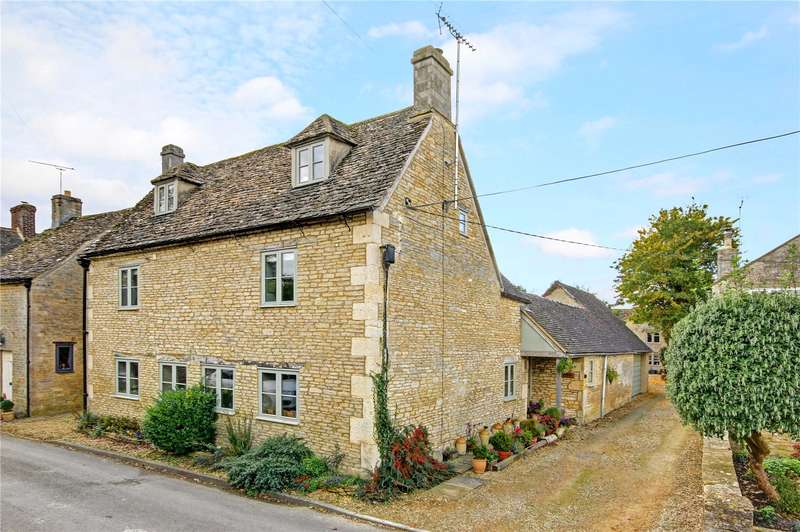 5 Bedrooms Detached House for sale in Church Street, Meysey Hampton, Cirencester, Gloucestershire, GL7