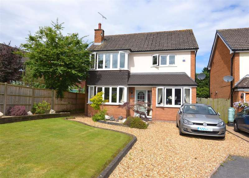 3 Bedrooms Detached House for sale in Glendower Close, Gnosall, Stafford