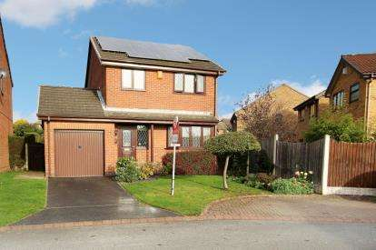 3 Bedrooms Detached House for sale in Howson Close, Ravenfield, Rotherham, South Yorkshire