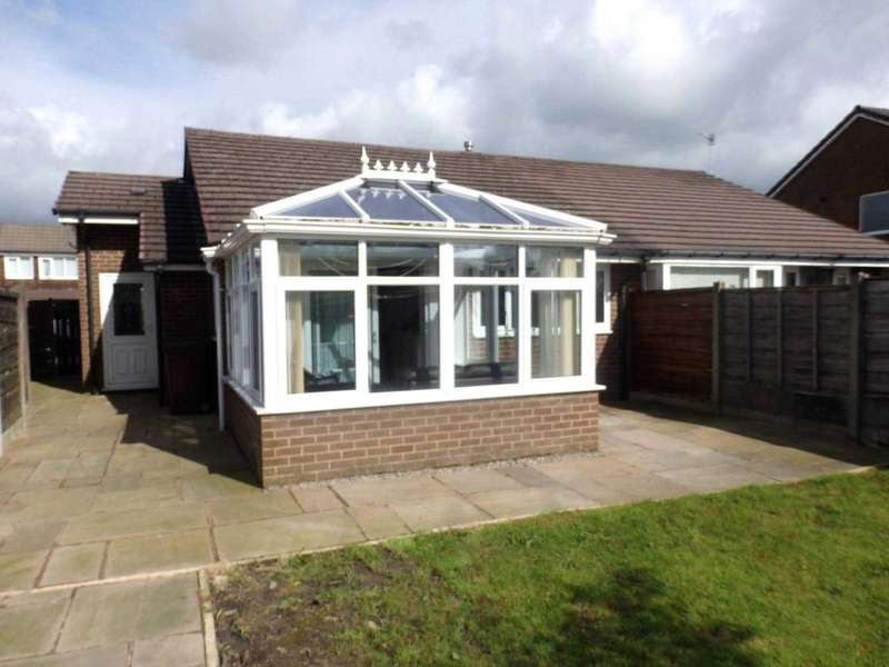 2 Bedrooms Semi Detached Bungalow for sale in Thornham Drive, Sharples