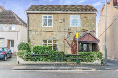 3 Bedrooms Detached House for sale in Chesterfield Road, Grassmoor, Chesterfield, Derbyshire
