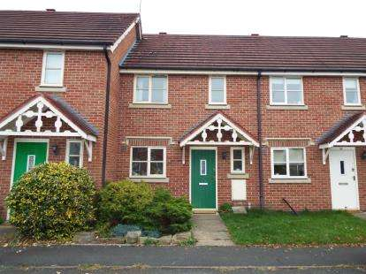 2 Bedrooms House for sale in Flowerscroft, Stapeley, Nantwich, Cheshire