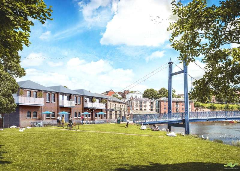 2 Bedrooms Flat for sale in The Quay, Exeter, Devon