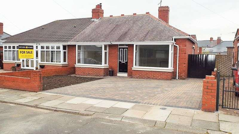 2 Bedrooms Bungalow for sale in Robinson Gardens, Wallsend