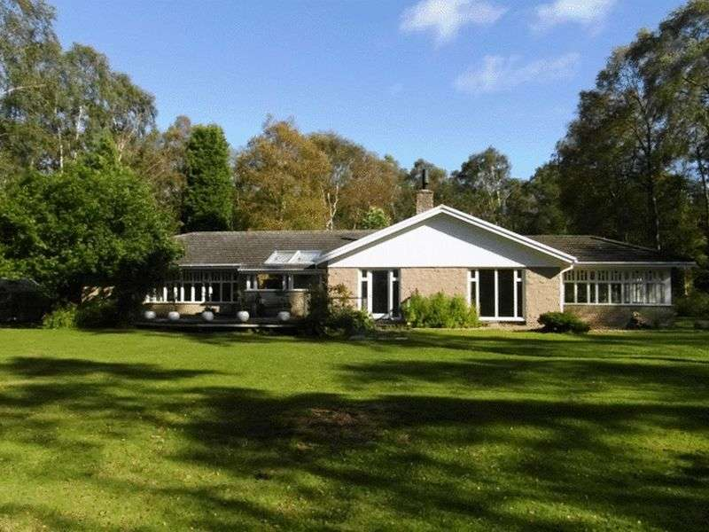 5 Bedrooms Bungalow for sale in Tranwell Woods, Morpeth - Five Bedroom Detached Bungalow