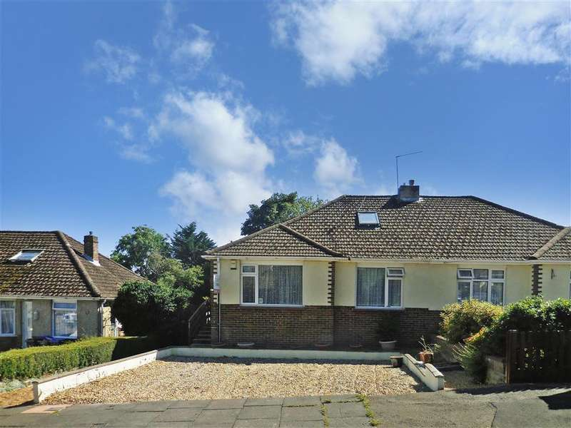 3 Bedrooms Semi Detached Bungalow for sale in Downside Avenue, Findon Valley, Worthing, West Sussex