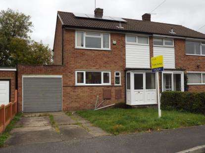 3 Bedrooms Semi Detached House for sale in Thorpe Drive, Mickleover, Derby, Derbyshire