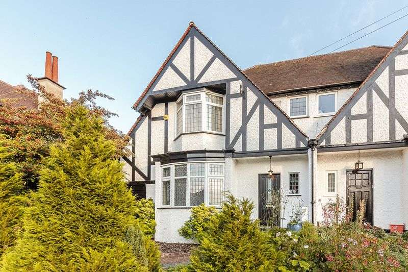 4 Bedrooms Semi Detached House for sale in Penwortham Road, Sanderstead, SOUTH CROYDON