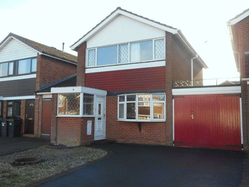 3 Bedrooms Detached House for sale in Arran Close, Nuneaton