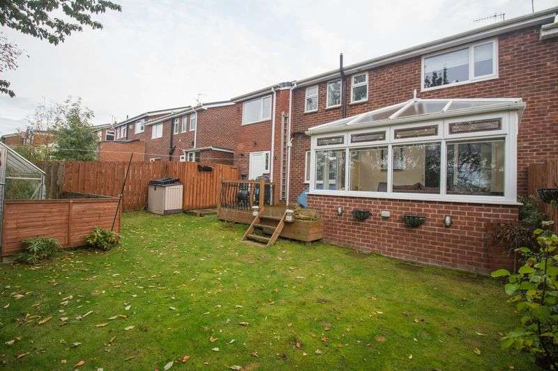 4 Bedrooms Semi Detached House for sale in Beweshill Crescent, Winlaton