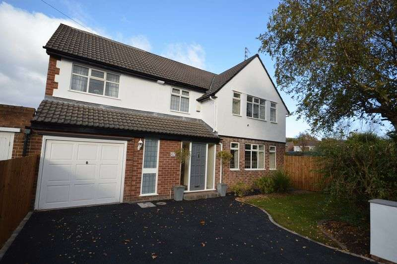 4 Bedrooms Detached House for sale in Caulfield Drive, Greasby