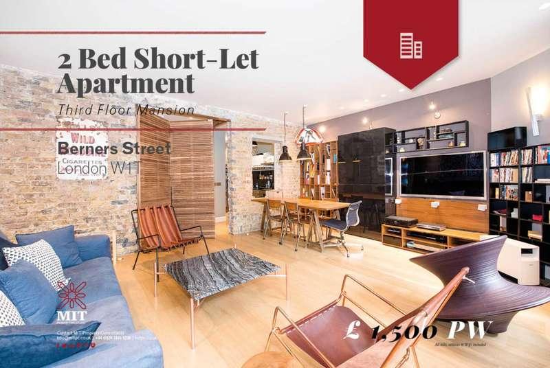2 Bedrooms Flat for rent in Berners Street, Fitzrovia