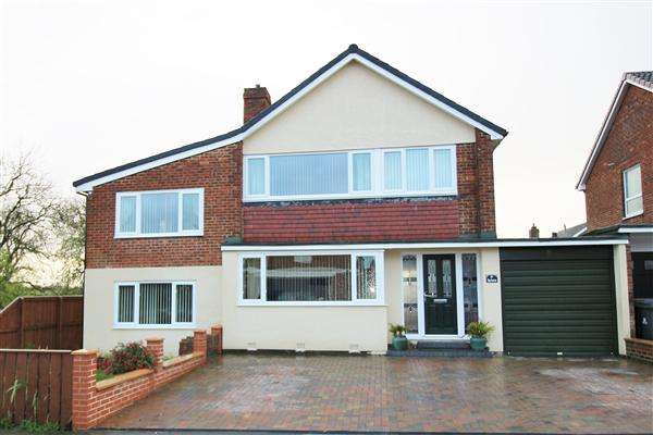 3 Bedrooms Detached House for sale in Sherbourne, Great Lumley