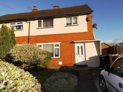 3 Bedrooms Semi Detached House for sale in Clough Avenue, Westhoughton, Bolton, Greater Manchester, BL5