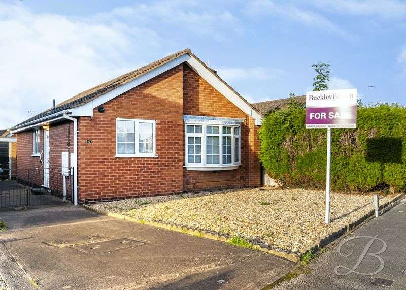 2 Bedrooms Detached Bungalow for sale in Hamilton Drive, Warsop