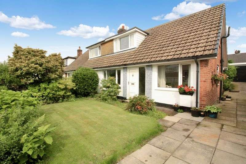 3 Bedrooms Semi Detached Bungalow for sale in Mendip Crescent, Walshaw, Bury