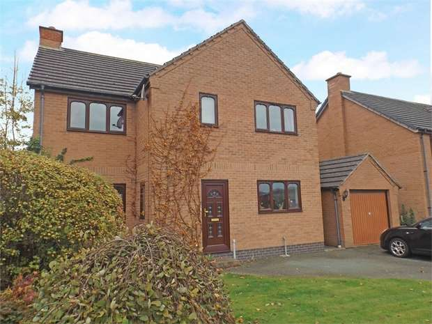4 Bedrooms Detached House for sale in Brimmon Road, Newtown, Powys