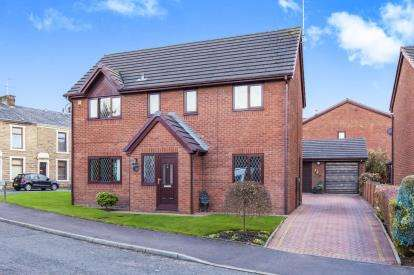 4 Bedrooms Detached House for sale in Greenacre, Lower Darwen, Blackburn, Lancashire