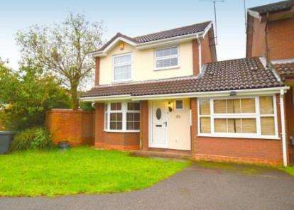 3 Bedrooms Link Detached House for sale in Sworder Close, Luton, Bedfordshire, Barton Hills