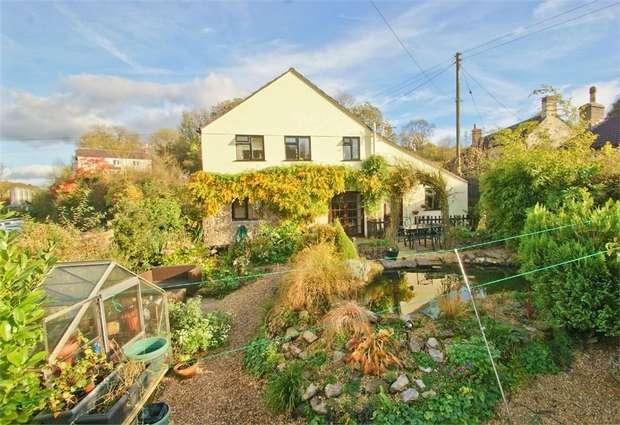 4 Bedrooms Cottage House for sale in Grunters Lane, GURNEY SLADE, Somerset