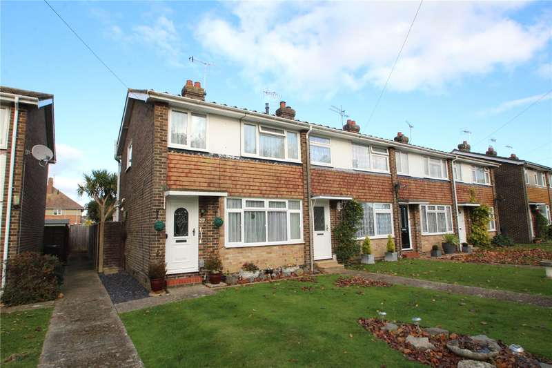 3 Bedrooms End Of Terrace House for sale in Walton Close, Worthing, West Sussex, BN13