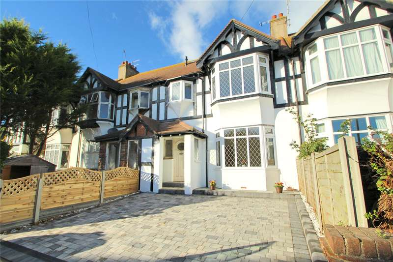 4 Bedrooms Terraced House for sale in Malvern Close, Worthing, West Sussex, BN11