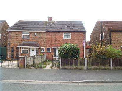3 Bedrooms Semi Detached House for sale in Boundary Road, Huyton, Liverpool, Merseyside, L36
