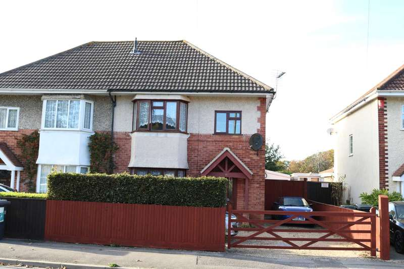 3 Bedrooms Semi Detached House for sale in BH10 Horsham Avenue, Bournemouth