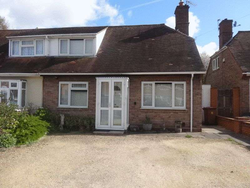 2 Bedrooms Semi Detached Bungalow for sale in Springfields, Walsall