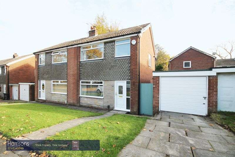 3 Bedrooms Semi Detached House for sale in Ellesmere Road, Morris Green, Bolton, Lancashire.