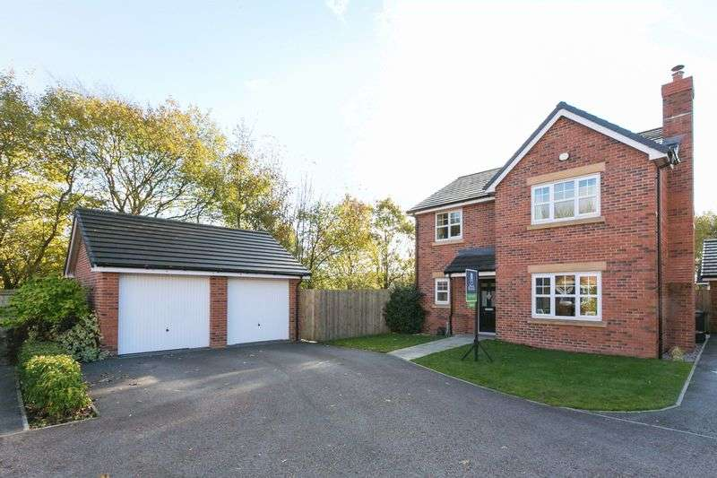 4 Bedrooms Detached House for sale in Quarry Road, Chorley, PR6 0LR