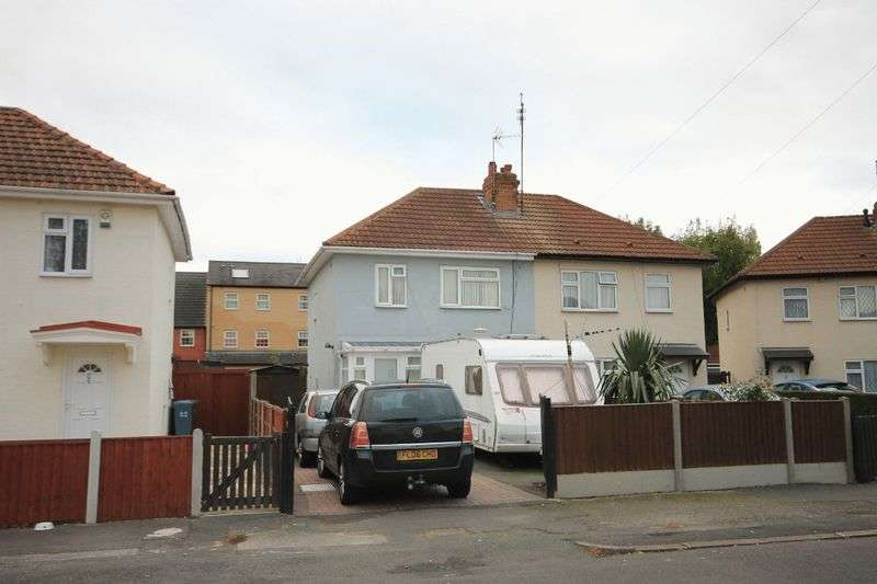 3 Bedrooms Semi Detached House for sale in ASHBY STREET, ALLENTON