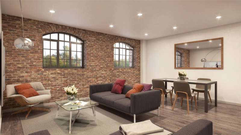 1 Bedroom Flat for sale in Woodcote Side, Epsom, Surrey, KT18