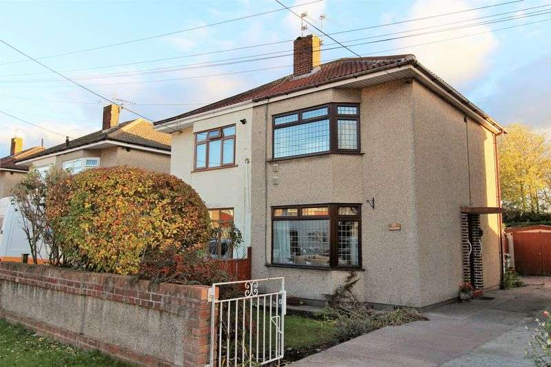 2 Bedrooms Semi Detached House for sale in Beach Road, Severn Beach