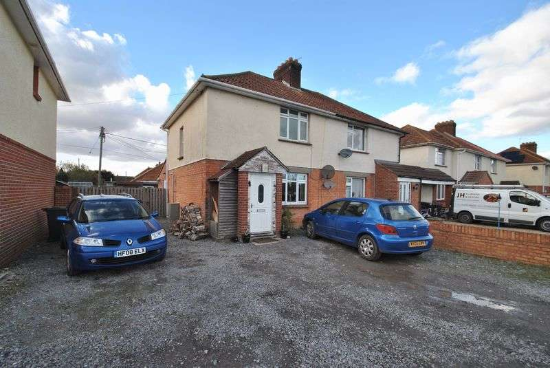 2 Bedrooms Semi Detached House for sale in 2 Bed Semi Detached in a Rural Location - East Huntspill