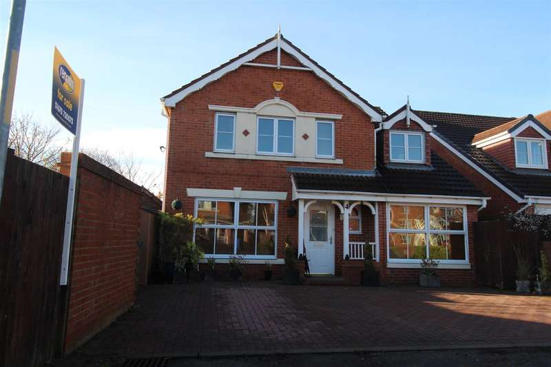 5 Bedrooms Detached House for sale in Loxton Square, Southfield Gardens, Cramlington