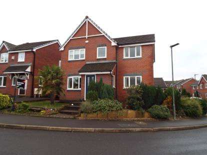4 Bedrooms Detached House for sale in Holden Wood Drive, Helmshore, Rossendale, Lancashire, BB4