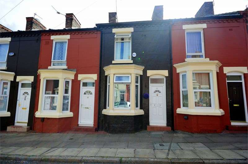 2 Bedrooms Terraced House for sale in Monkswell Street, Toxteth