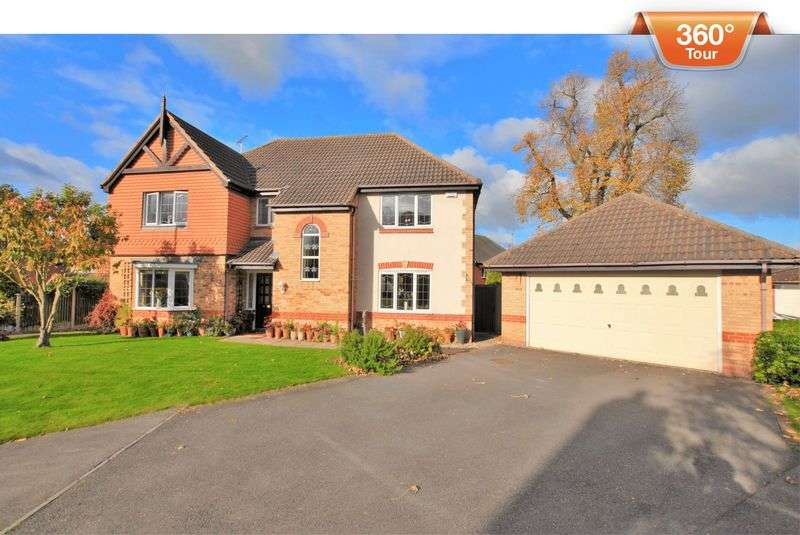 5 Bedrooms Detached House for sale in Smallcross Close, Uttoxeter