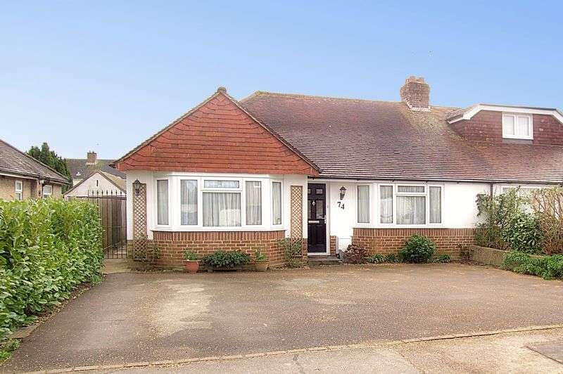 3 Bedrooms Semi Detached Bungalow for sale in Parklands Road, Chichester PO19