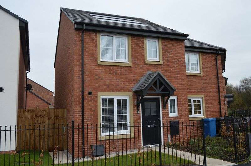 3 Bedrooms Semi Detached House for sale in Ackers Fold, Pennington Wharf, Leigh WN7 4BQ