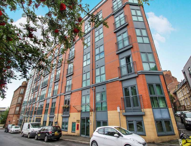 1 Bedroom Flat for sale in The Habitat Woolpack Lane, Nottingham, NG1